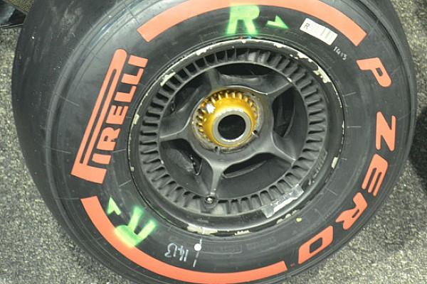 McLaren: ritornano i mozzi anteriori con il buco
