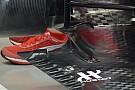 Ferrari: nuovo fondo con otto slot sul bordo esterno