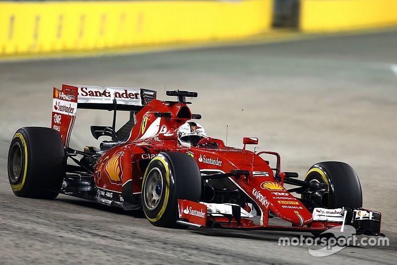 """Vettel - """"Être un peu plus rapide demain"""""""