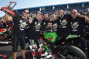 World Superbike Race report Sykes wins Jerez Race 1 as Rea clinches WorldSBK crown