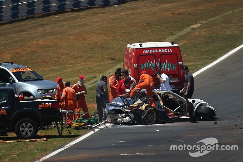 """""""Temi pelo pior"""" diz narrador de acidente de Pedro Piquet"""