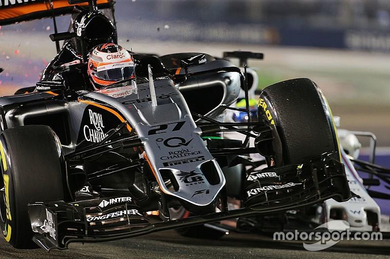 Hulkenberg aceita culpa em acidente com Massa em Cingapura