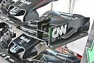McLaren: aggiunto un profilo sull'ala anteriore