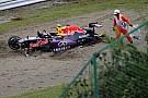 "Kvyat admits to ""rookie mistake"" after crash"