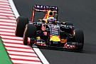 Red Bull dans une situation moteur