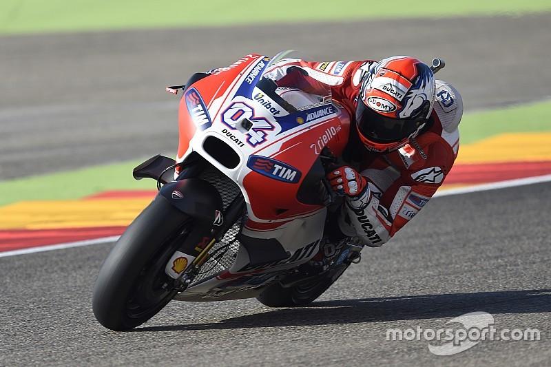 Dovizioso admet ses difficultés avec une Ducati nerveuse au freinage