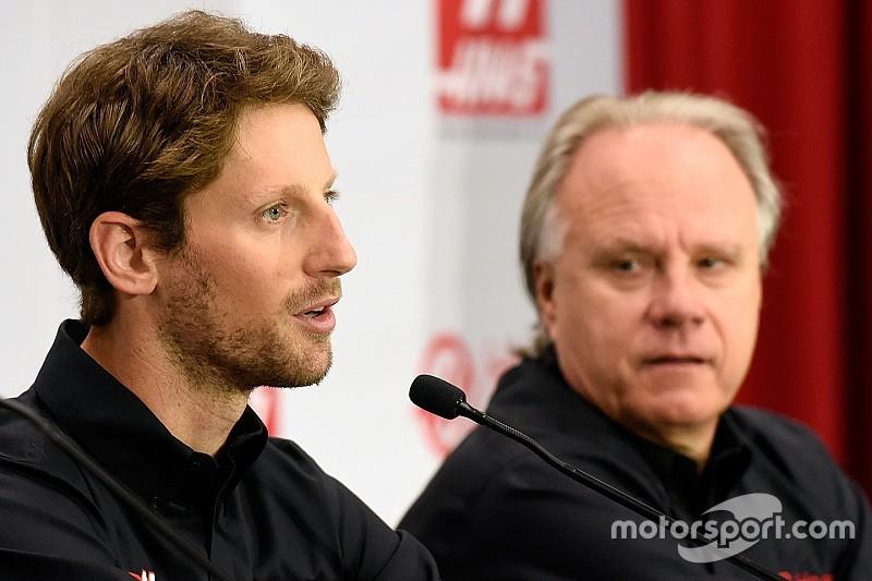 """Haas admite """"surpresa"""" com contratação de Grosjean"""