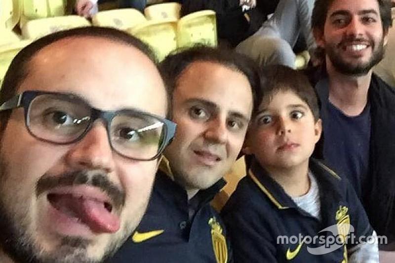 """""""Monegasco"""", Massa torce por Mônaco ao lado da família"""