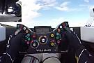 Câmera mostra comandos e trabalho de piloto em volta rápida