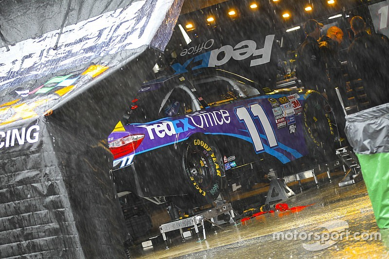 Happy Hour cut short by more rain at Dover