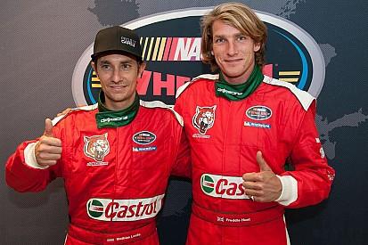 Freddie Hunt y Mathias Lauda serán compañeros en NASCAR Euro