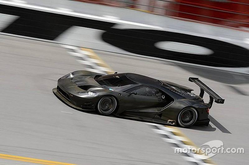 Primo test a Daytona per la nuova Ford GT