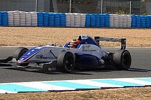 Formula Renault Ultime notizie Jack Aitken svetta nelle ultime libere della stagione
