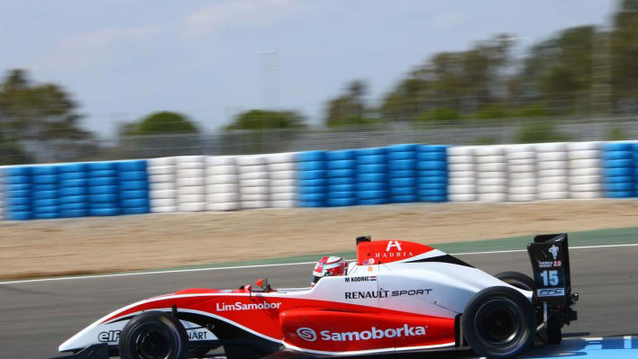 Martin Kodric in pole a Jerez in Gara 2
