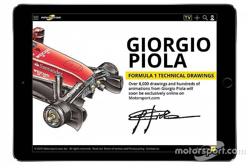 Motorsport.com schaft technisch F1-archief van Giorgio Piola aan