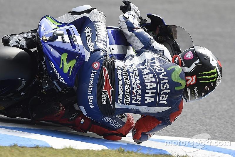 Lorenzo espera erro de Rossi para encostar na tabela