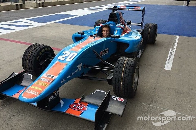 Marcos Siebert probará un GP3 en Abu Dhabi