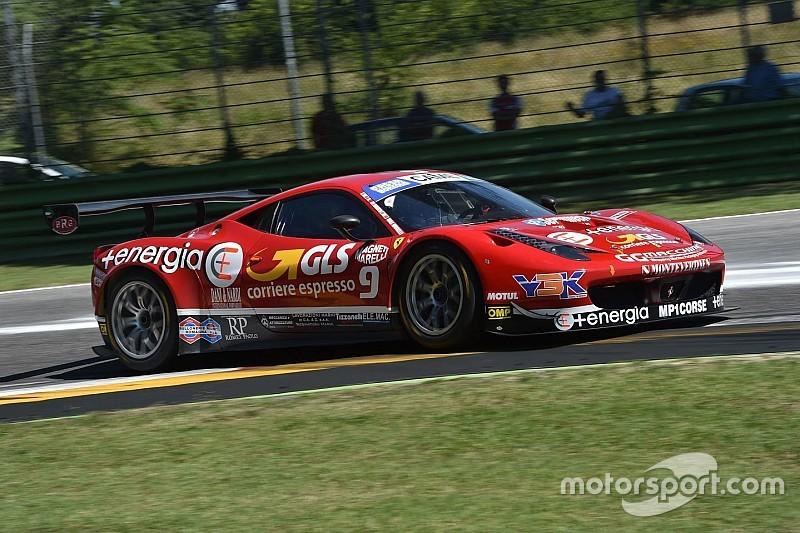 Balzan affianca Mugelli sulla Ferrari della MP1 Corse