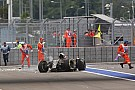 Grosjean crash not down to failure, says Lotus