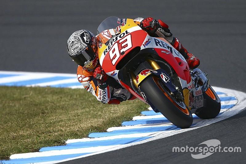 MotoGP澳大利亚菲利普岛站排位:马奎斯夺杆位 罗西第三排发车