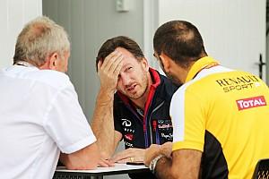 Формула 1 Слухи В Renault ждут извинений от Red Bull