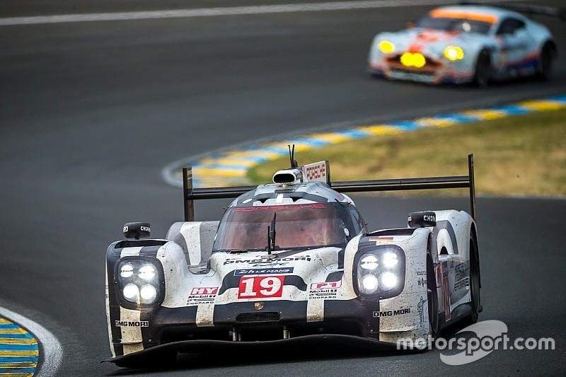 Juan Pablo Montoya test LMP1 Porsche