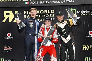 رالي كروس تقرير السباق رالي كروس: باكيرود يفوز في إيطاليا بينما