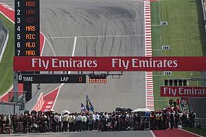Formule 1 Contenu spécial GP des Etats-Unis - Le programme TV du week-end