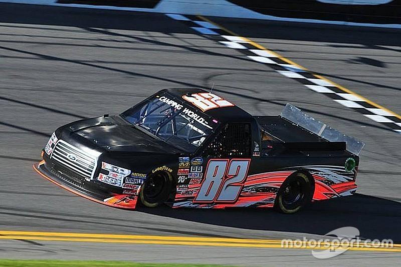 NASCAR Next driver Austin Hill back in a Truck for Talladega
