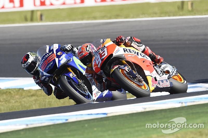 "Rossi: ""Márquez ayudó a Lorenzo en Phillip Island"""