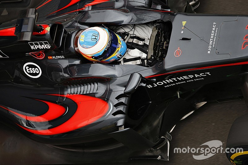 Alonso only McLaren driver to get new-spec Honda engine