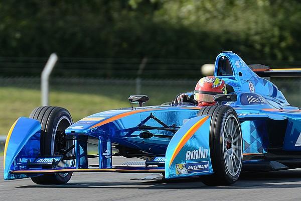 Formule E Robin Frijns tevreden met Formule E-debuut