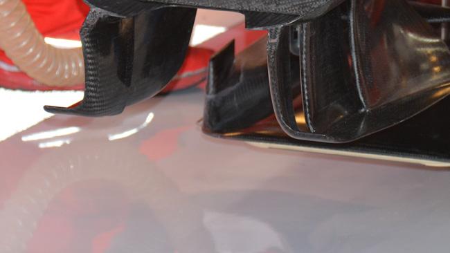 Ferrari: tornano i flap verticali ai bordi del T-tray