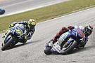 Rossi mai sul podio partendo oltre la quinta fila
