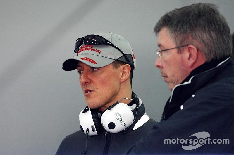 """Ross Brawn: """"Ich bete jeden Tag für Michael Schumacher"""""""