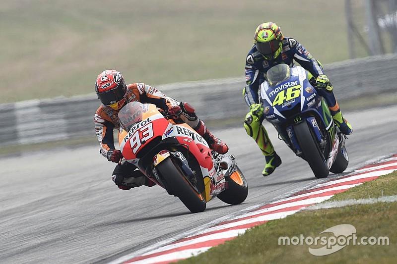 Yamaha просила дирекцию гонки успокоить Росси и Маркеса