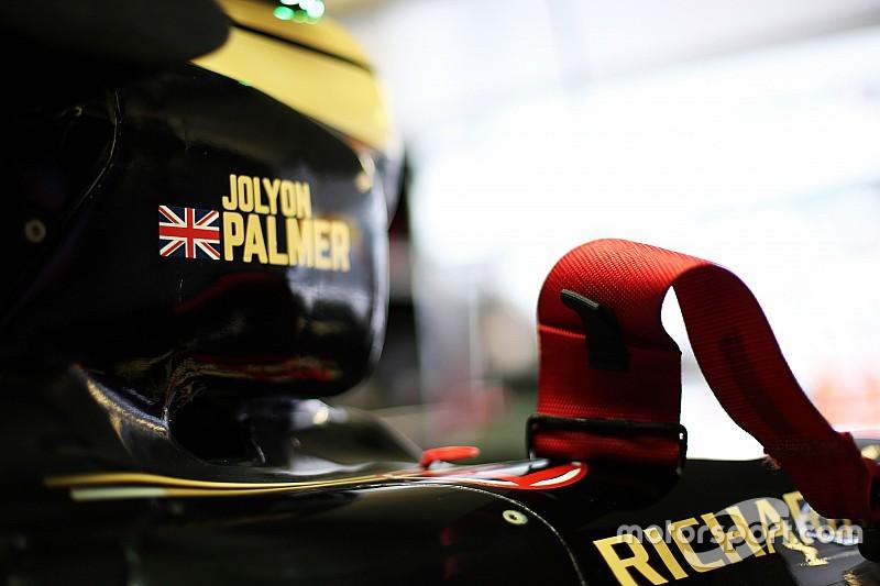 Palmer roulera en EL1 lors des trois derniers GP