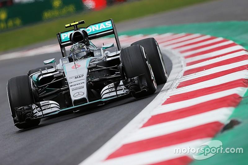 Mercedes-rijders nipt het snelst in VT3 Mexico, Verstappen 11e