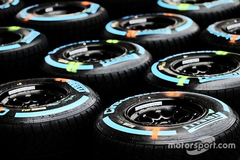 Pirelli F1-test bevestigd, paarse band in 2016