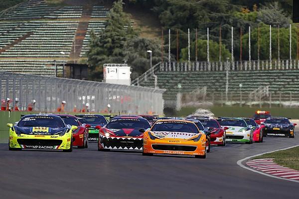 Сингания выиграл первую гонку Ferrari Challenge, Принот завоевал титул