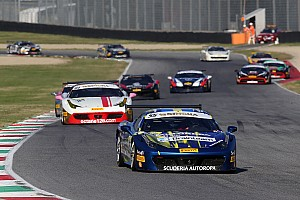 Ferrari Race report Santoponte beats Grossmann for first Trofeo Pirelli win