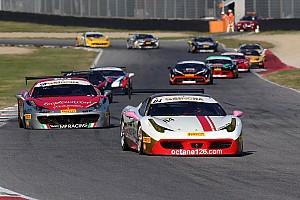 Ferrari Reporte de calificación Grossmann se lleva la pole para la carrera 2 del Trofeo Pirelli