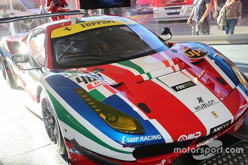 Ferrari 488 GTE: l'esclusivo time laps dello stickering