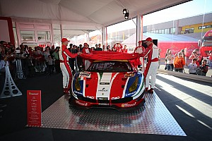法拉利在穆杰罗发布全新488 GTE及GT3