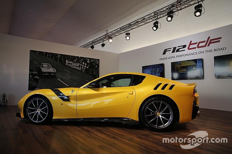 Ferrari представила суперкар F12tdf в Муджелло