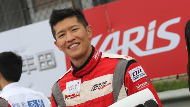 Sunny Wong con la WestCoast Racing a Macao