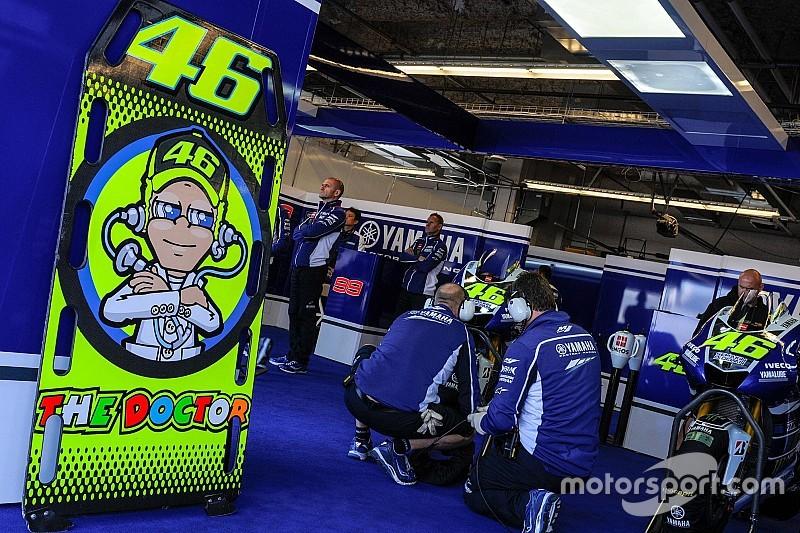 В Yamaha не станут возводить стену в боксах между гонщиками
