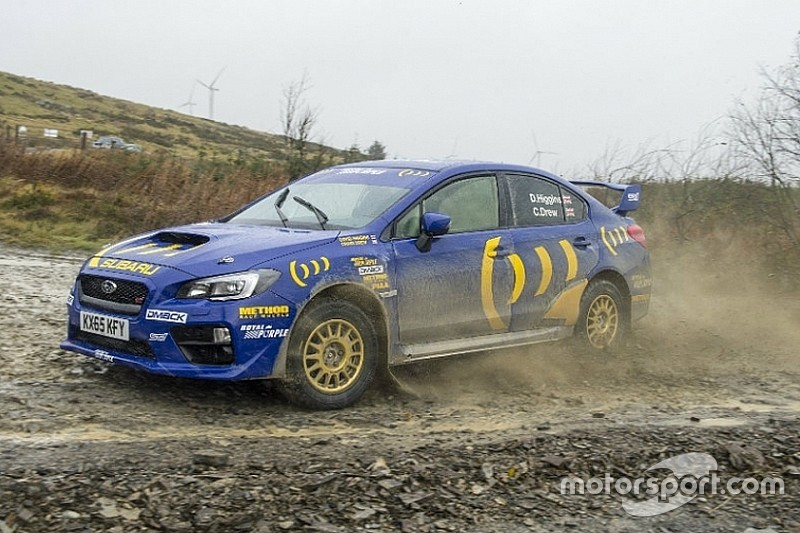 Rally del Galles, David Higgins omaggia Colin McRae