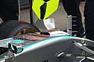 Mercedes removes S-duct after first practice trial