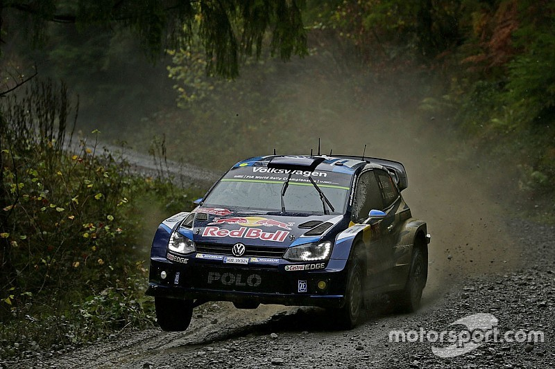 Wales WRC: Ogier closes on victory, Tanak crashes out of fourth place